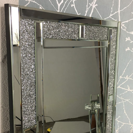 Diamond Glitz Full Length Wall Mirror