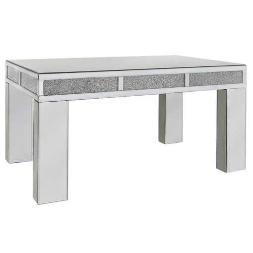 Diamond Glitz Mirror Bricks Coffee Table