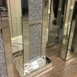 Diamond Glitz Mirrored Floor Lamp