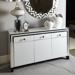 Madison White 3 Door Sideboard