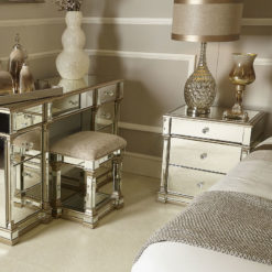 Athens Mirrored 3 Drawer Chest