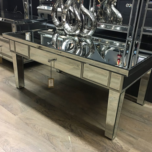 Classic Mirror 1 Drawer Mirrored Coffee Table