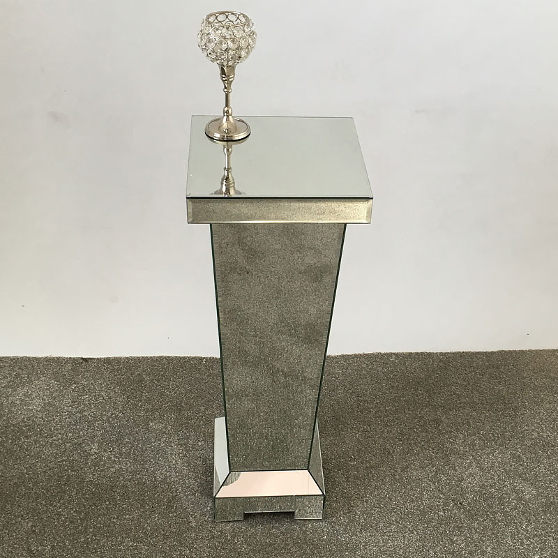 Classic Mirror Small Mirrored Display Pedestal Picture