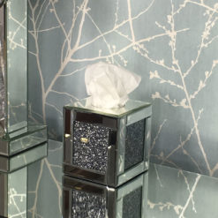 Diamond Crush Square Tissue Box Cover