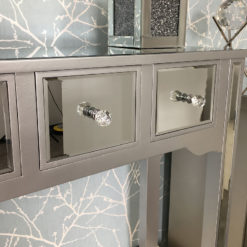 Georgia Mirrored 4 Drawer Console Table