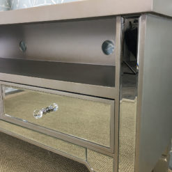 Georgia Mirrored TV Entertainment Stand