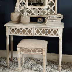 Hampton Mirrored 2 Drawer Dressing Table
