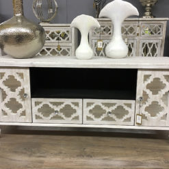 Hampton Mirrored TV Cabinet