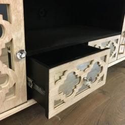 Hampton Mirrored TV Cabinet