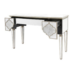 Sahara Gold Mirrored 3 Drawer Console Table