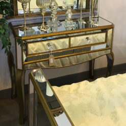 Venetian Gold 2 Drawer Console Table