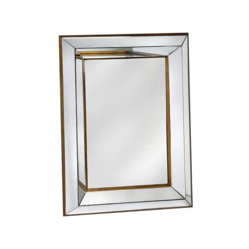 Venetian Gold Bevelled Wall Mirror