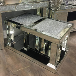 Diamond Glitz Mirrored Coffee Table