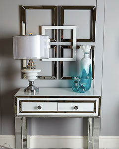 Madison White Inspiration Dressing Table