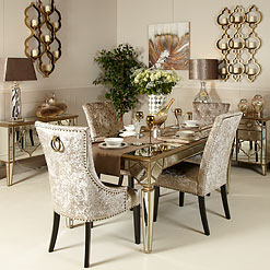 Mirrored Dining Room Furniture