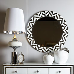 Mirrored Home Accessories