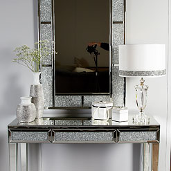 Mirrored Hallway Furniture