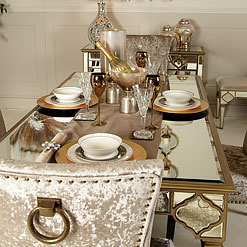 Mirrored Kitchen Furniture