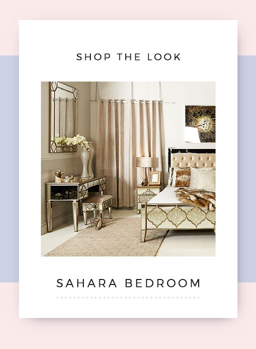 Shop the look sahara Mirrored bedroom Furniture