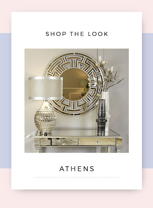 Shop the look Athens Mirrored Dressing Table