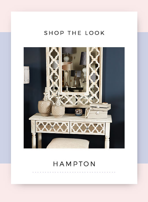 Shop the look Hampton Mirrored Dressing Table