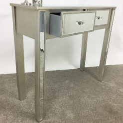 Georgia 2 Drawer Mirrored Dressing / Console Table