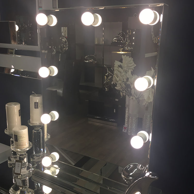 Hollywood Dressing Table Vanity Mirror With 9 Dimmable Led