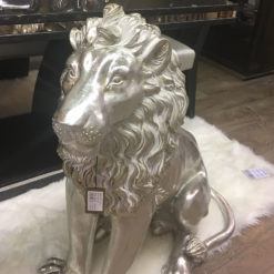 Left Facing Large Lion Decoration Ornament Home Decor Sculpture 84cm
