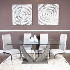 SET-Caspian-Toughened-Glass-Chrome-Dining-Room-Table-and-6-Six-Chairs