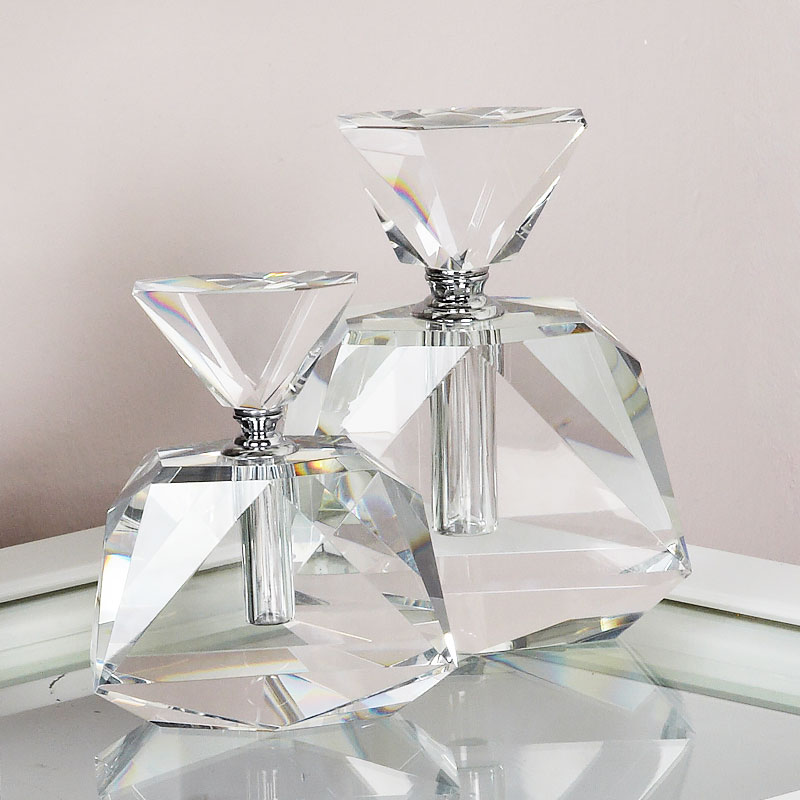 Large Crystal Perfume Bottle Decoration Ornament Picture