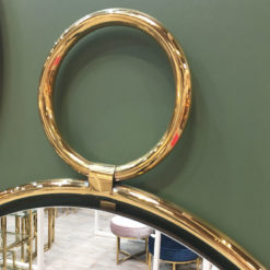 Lysander 73cm Small Gold Wall Mirror