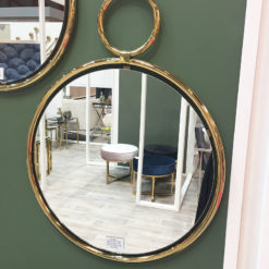 Lysander 83cm Medium Gold Wall Mirror