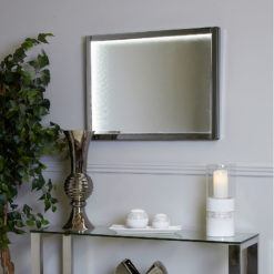 Medium Smoked Mirror Infinity Wall Light