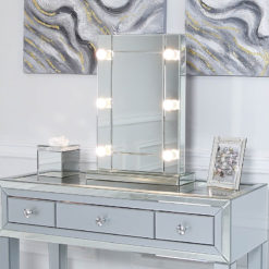 Hollywood Dressing Table Vanity Mirror With 6 Dimmable LED Light Bulbs