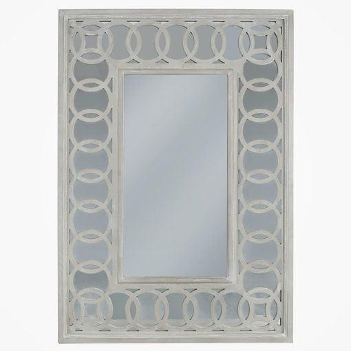 Bayside Mirrored Hampton Style 113cm Wall Mirror