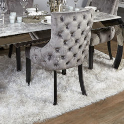 White Shaggy Rug With Glittery Silver Thread (150x230)