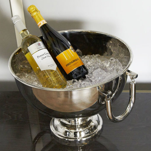 Stainless Steel Wine Cooler Bowl 39cm Decorative Bowl