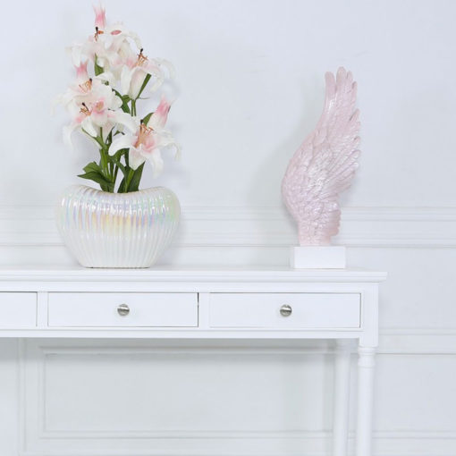 Pink Right Angel Wing Decoration 49.5cm