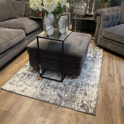 Large Abstract Grey Rug 230cm